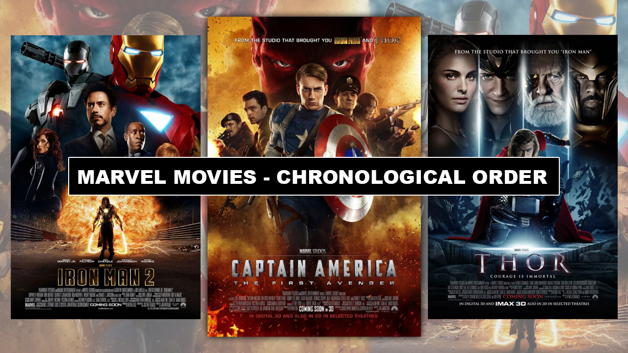 Marvel Movies Correct Order To watch