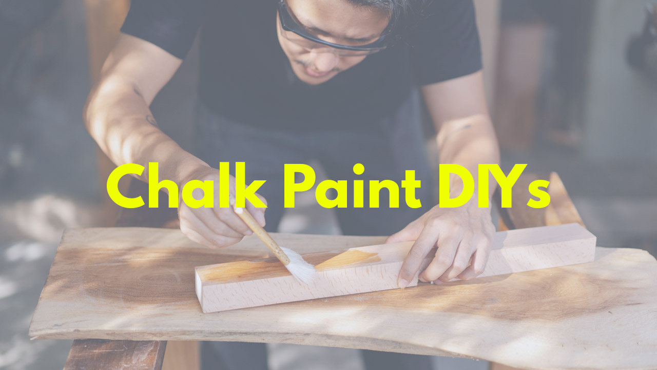 The Best Chalk Paint DIYs, From Kitchen Cabinets To Marbled Tables
